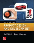 ulrich product design and development book